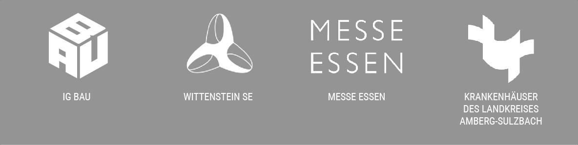 Slide mit verschiedenen Logos